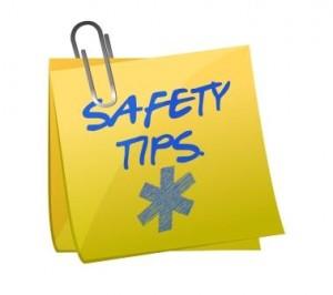Sticky Note: Safety Tips