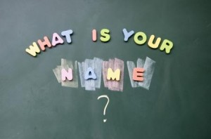 Chalkboard: What is Your name