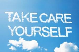 Sky Writing: Take Care of Yourself