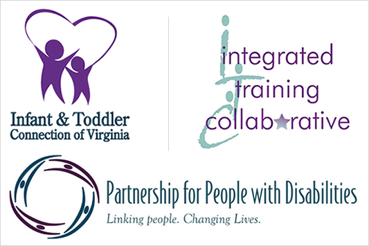 ITC Logo, Infant & Toddler Connection Logo and Partnership for People with Disabilities
